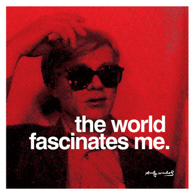Andy Warhol Quotes Awesome Andy Warhol's Quote On Being World Famous For 15 Minutes